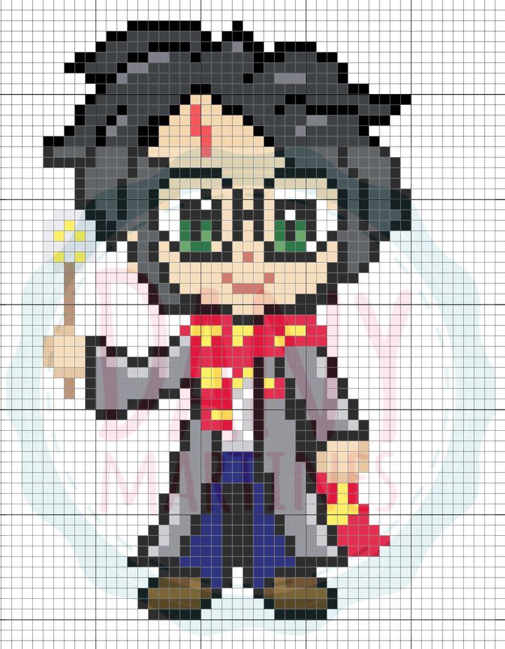 Pin De Dany Martines Em Moldes Do Pixel Art Beads