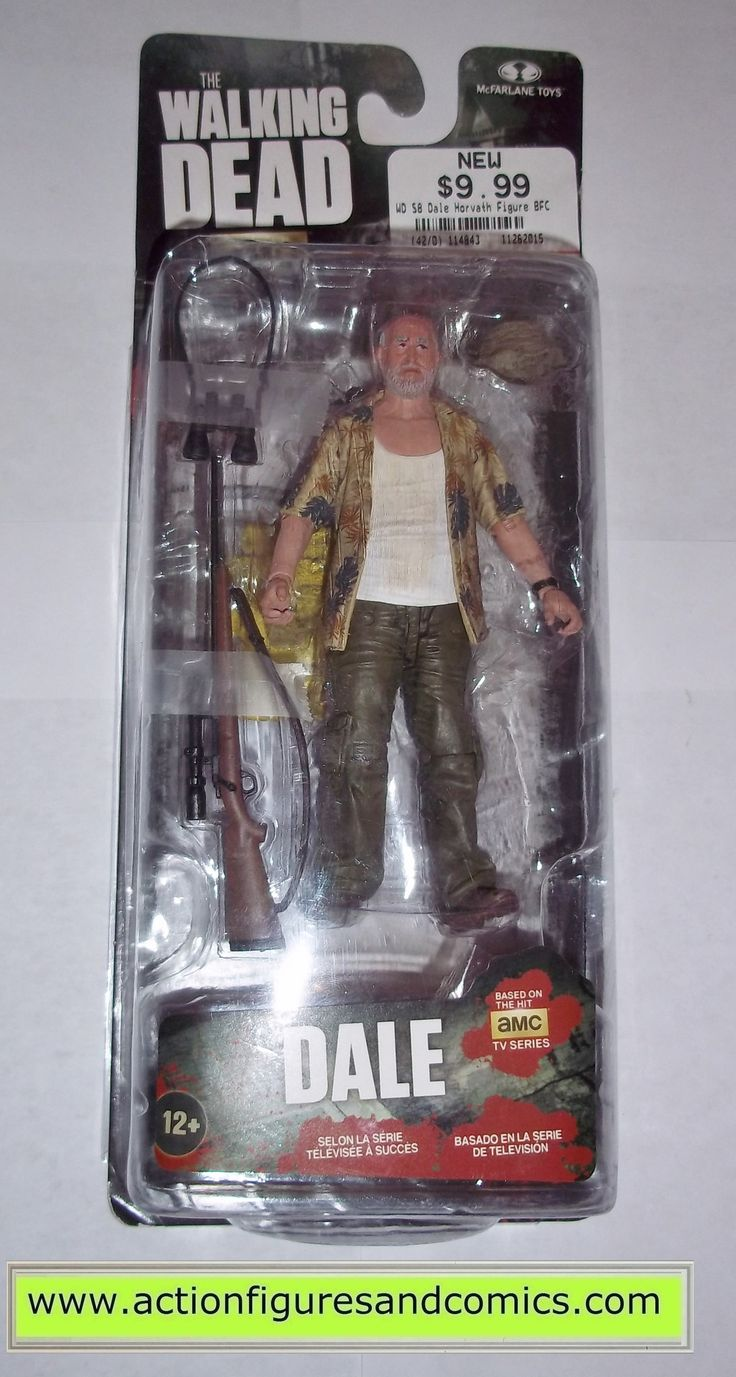 The Walking Dead DALE tv series 8 mcfarlane toys action figures