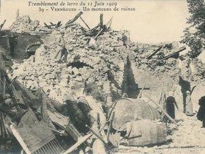 Les photos du tremblement de terre de 1909