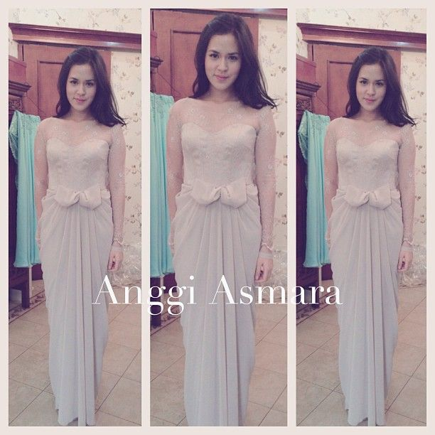 dress by anggi asmara