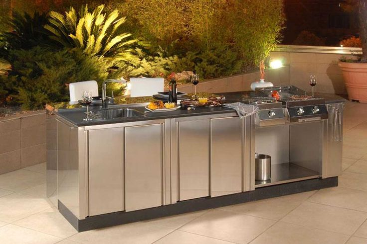 Image of: Modular Outdoor Kitchens Units