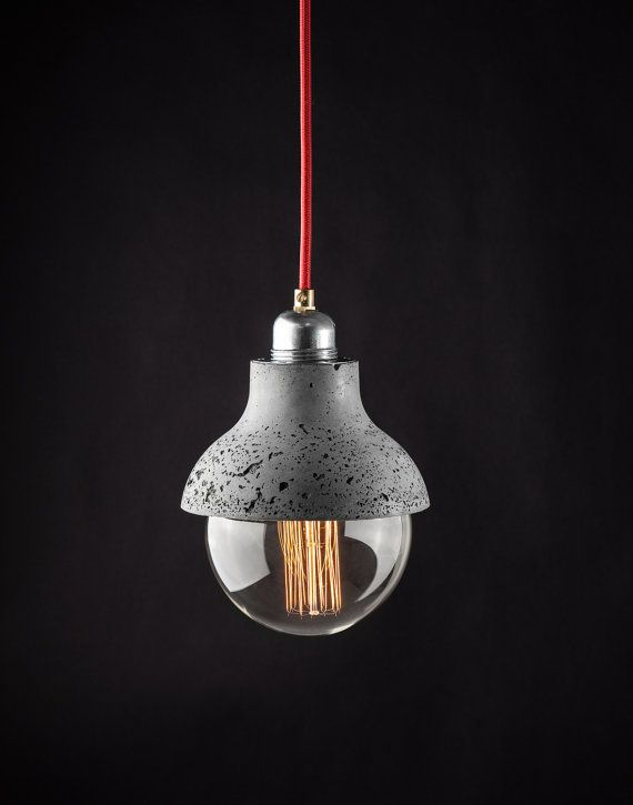 25+ best ideas about Concrete lamp on Pinterest Diy kitchen striplights, Concrete light and ...