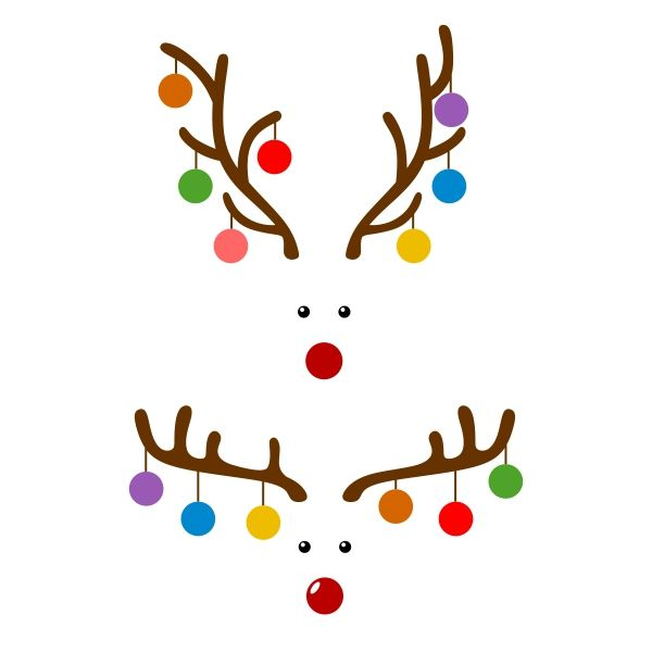 Reindeer Deer Bulb Cuttable Design Cut File. Vector, Clipart, Digital Scrapbooking Download, Available in JPEG, PDF, EPS, DXF and SVG. Works with Cricut, Design Space, Cuts A Lot, Make the Cut!, Inkscape, CorelDraw, Adobe Illustrator, Silhouette Cameo, Brother ScanNCut and other software.