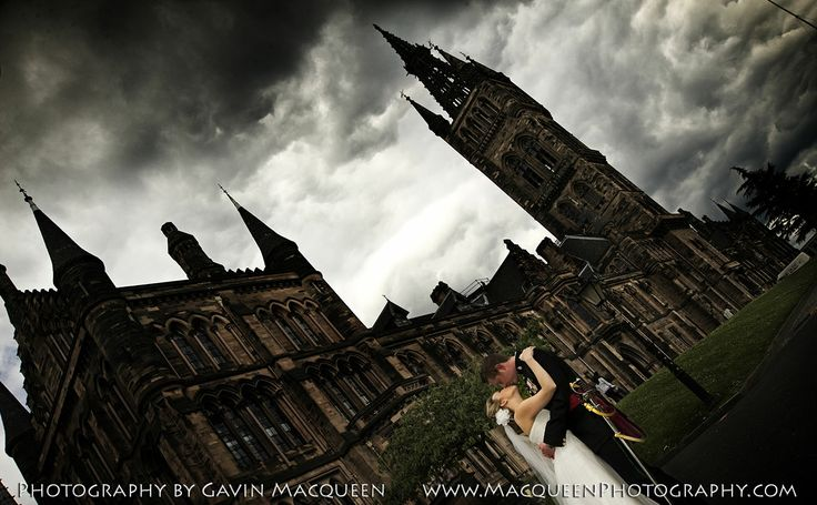 Glasgow University wedding photography by Gavin Macqueen.
