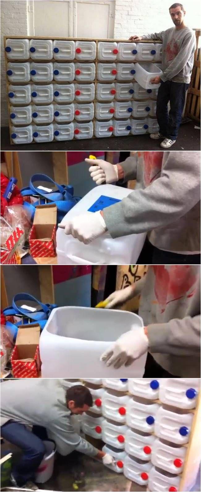 Creative Ideas - DIY Upcycled Plastic Bottle Drawer Storage System