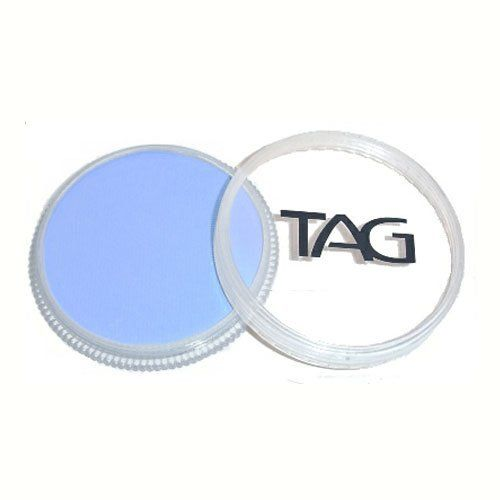 TAG Face Paints - Powder Blue (32 gm) by TAG Body Art. $6.47. TAG face paint is hypoallergenic and made with non-toxic, skin safe ingredients.. Each 32 gram TAG Face Paint Container is good for 50-200 applications.. TAG Face Paint is very easy to blend, soft on the skin and does not crack or peel.. Great for line work. TAG Powder Blue Face Paint is very easy to blend, soft on the skin and does not crack or peel. Most of TAGs face painting colors are great for l...