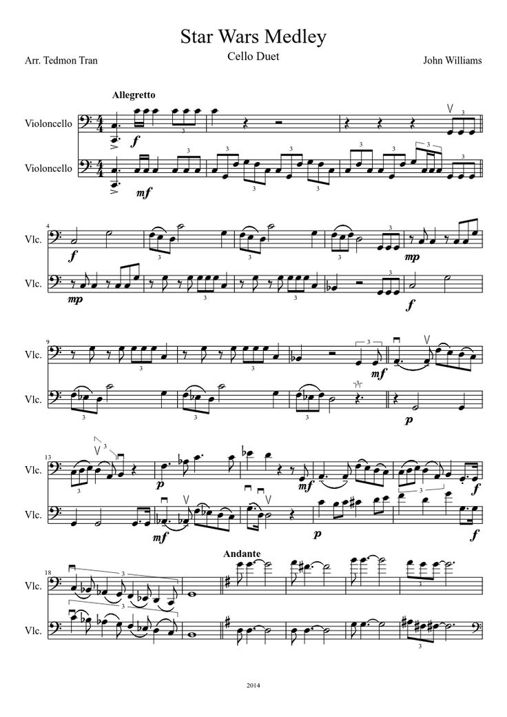 52 Best Images About Cello Sheet Music On Pinterest