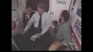 UNCOVERED VIDEO: Bill Clinton Gropes Stewardess on Plane – Before Realizing Camera Is On
