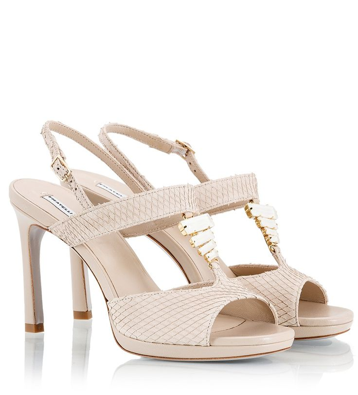 Fratelli Karida high heel sandals are an elegant wedding or summer party option. The heel is sculpted to place your foot at a comfortable natural angle and makes the perfect wear-anywhere choice.