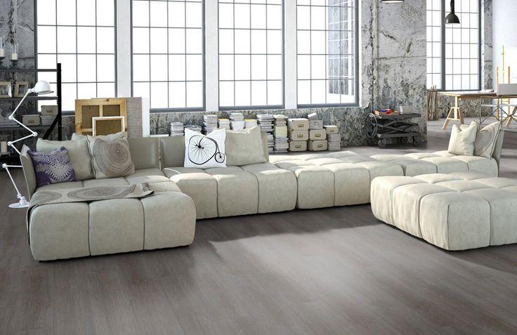 Home Stick - Scene grey: Zelfklevende pvc vloer (586) € 17,95  / m2 (incl. BTW)