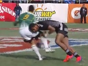 2013 Rugby Sevens World Series: Las Vegas: Hard Hits