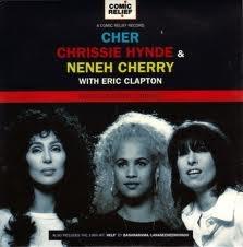Cher, Chrissie Hynde, Neneh Cherry & Eric Clapton