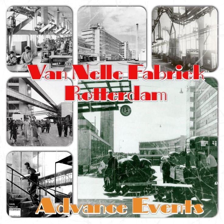 De Van Nelle Fabriek. Gebouwd in 1930. Kantoor van Advance Events