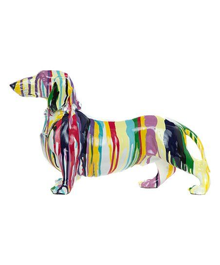 Interior Illusions Graffiti Dachshund Figurine | zulily