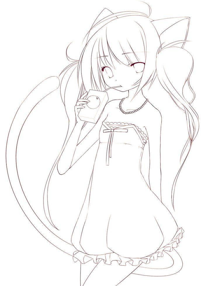 Line Art Juice : Best anime line art images on pinterest coloring