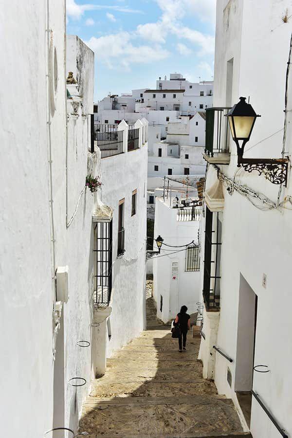 Andalusiens dolda pärla Vejer de la Frontera.