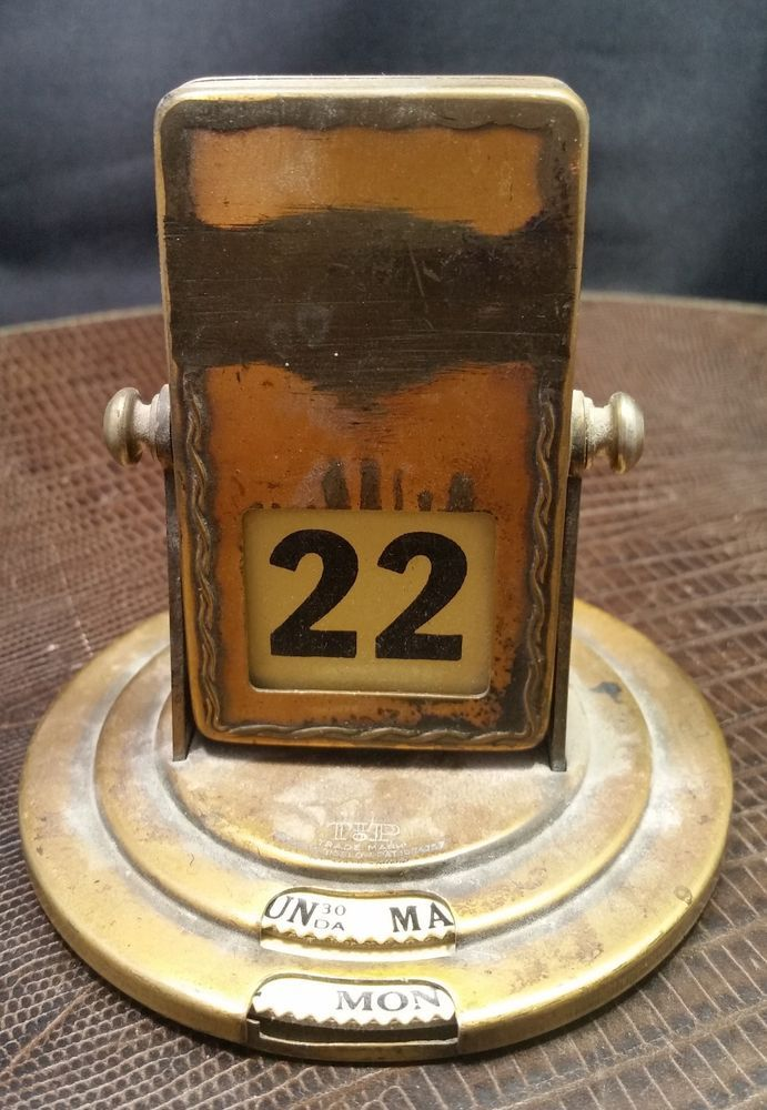 Perpetual Calendar Vintage : Best images about vintage perpetual calendars on