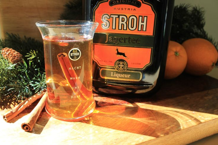 Austrian Jagertee - Just pour Stroh Jagertee into a mug of hot water. Stir and enjoy! Better than a hot toddy.