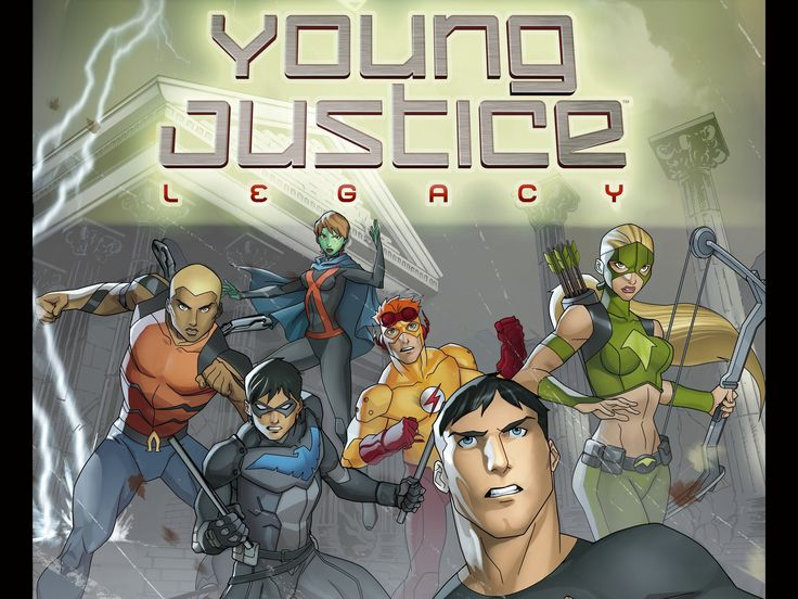 2 Young Justice: Legacy HD Wallpapers | Backgrounds - Wallpaper Abyss