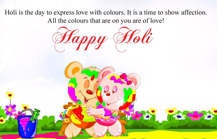 Happy Holi Wishes Images in English Languages for Friends and Family. #happyholi #wishes #images #greetings #english #wallpaper #hd #holi2018