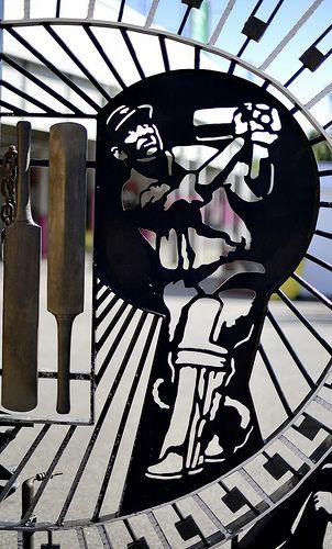 Len #Hutton #Gates at #Headingley. #cricket #yorkshire #england