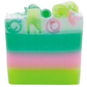 Do you think your ready for this jelly...baby fragranced soap?! A sweet combination with enough clary sage and bergamot essential oils to leave you feeling bootilicious.   Sugary notes combines with fresh fruity Strawberry and juicy Raspberry are mellowed by elements of edible parma violet and completed by delicate creamy caramel.