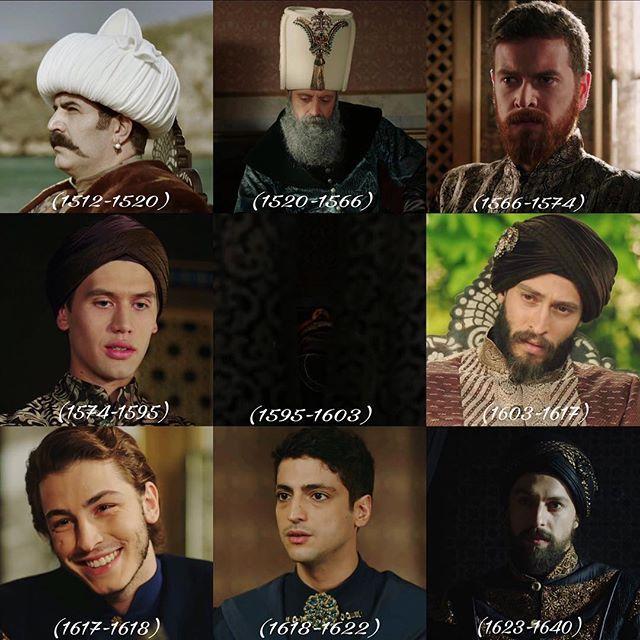 Yavuz Sultan Selim Kanuni Sultan Süleyman Sultan II. Selim ✨ Sultan III. Murat Sultan III. Mehmet Sultan I. Ahmet Sultan I. Mustafa Sultan Genç Osman . Sultan IV. Murat •| #muhteşemyüzyılkösem #muhteşemyüzyıl #tims #yavuzsultanselim #sultansüleyman #halitergenç #sultanselim #enginöztürk #sultanmurat #serhanonat #sultanmehmet #sultanahmet #ekinkoç #sultanmustafa #borankuzum #gençosman #tanerölmez #sultanmurat #metinakdülger |• @halitergencresmi @enginozturk @ser...
