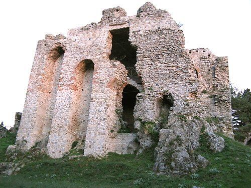 San Giorgio Morgeto (ruderi del castello)