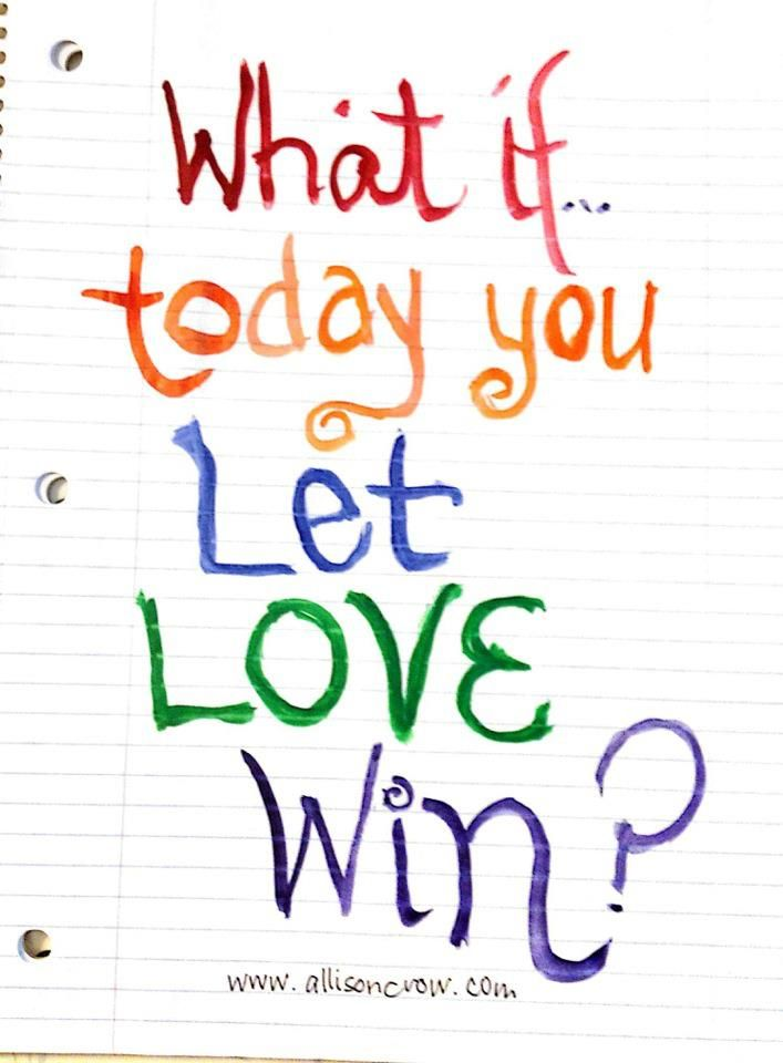 Quotes About Love Wins : ... Love Wins on Pinterest Thats all, Choose love and Vinyl wall art