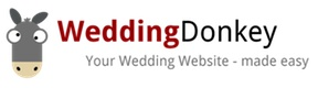 WeddingDonkey personal wedding websites - made easy | Create your personal free wedding website with online rsvp and gift registry | For couples in love
