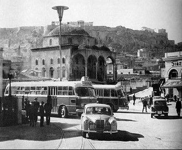 BEAUTIFUL, OLD ATHENS » 1950′s Monastiraki