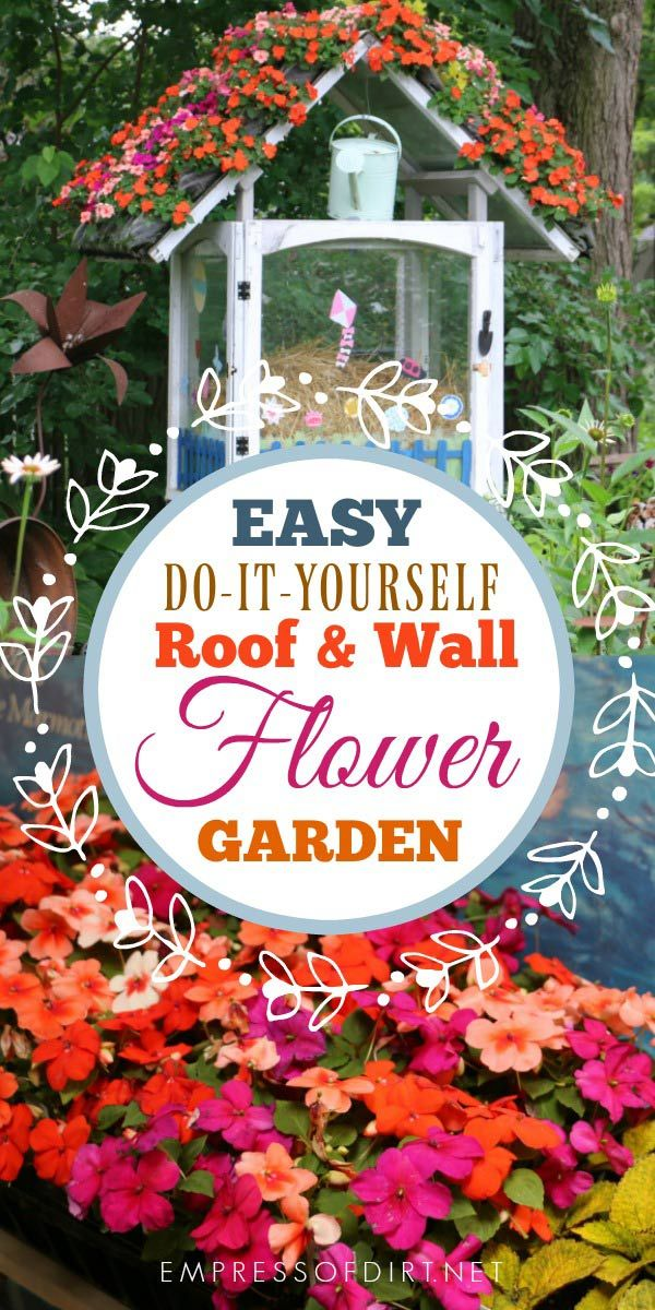 Easy Way to Grow a Flower Roof