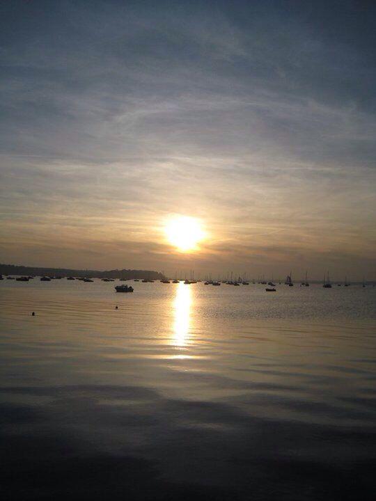 Poole harbour. Dorset