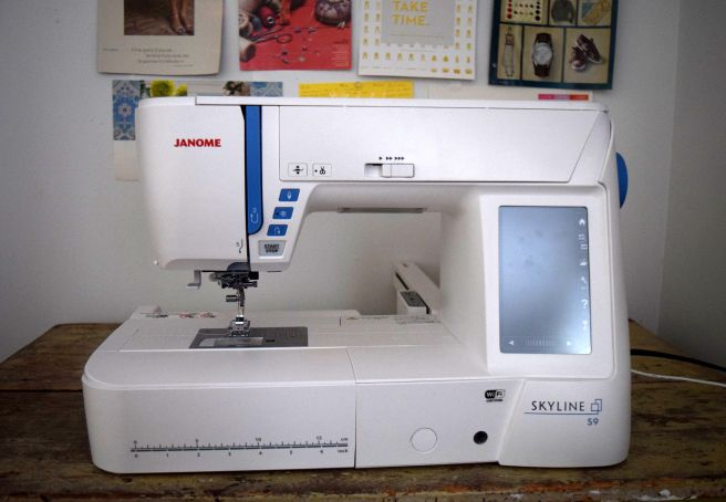 Janome skyline s sewing embroidery machine review by