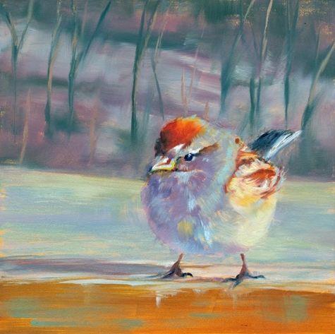 """""""A Little Bird Told Me"""" - by Brenda Ferguson"""