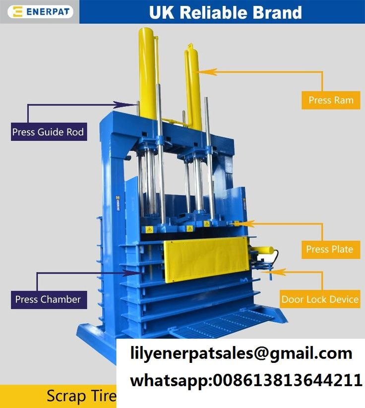 Hydraulic waste used tyre baler machine tyre baler press What is trash compactor and how does it work