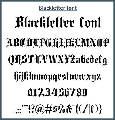 30 Amazing Free Old English Fonts | lettering | English calligraphy