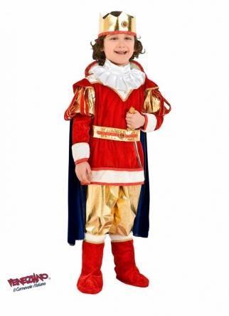 Детский новогодний костюм короля картики