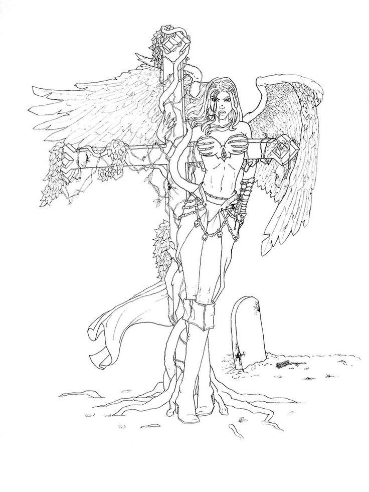 149 best angel coloring images on pinterest   coloring books ... - Coloring Pages Beautiful Angels