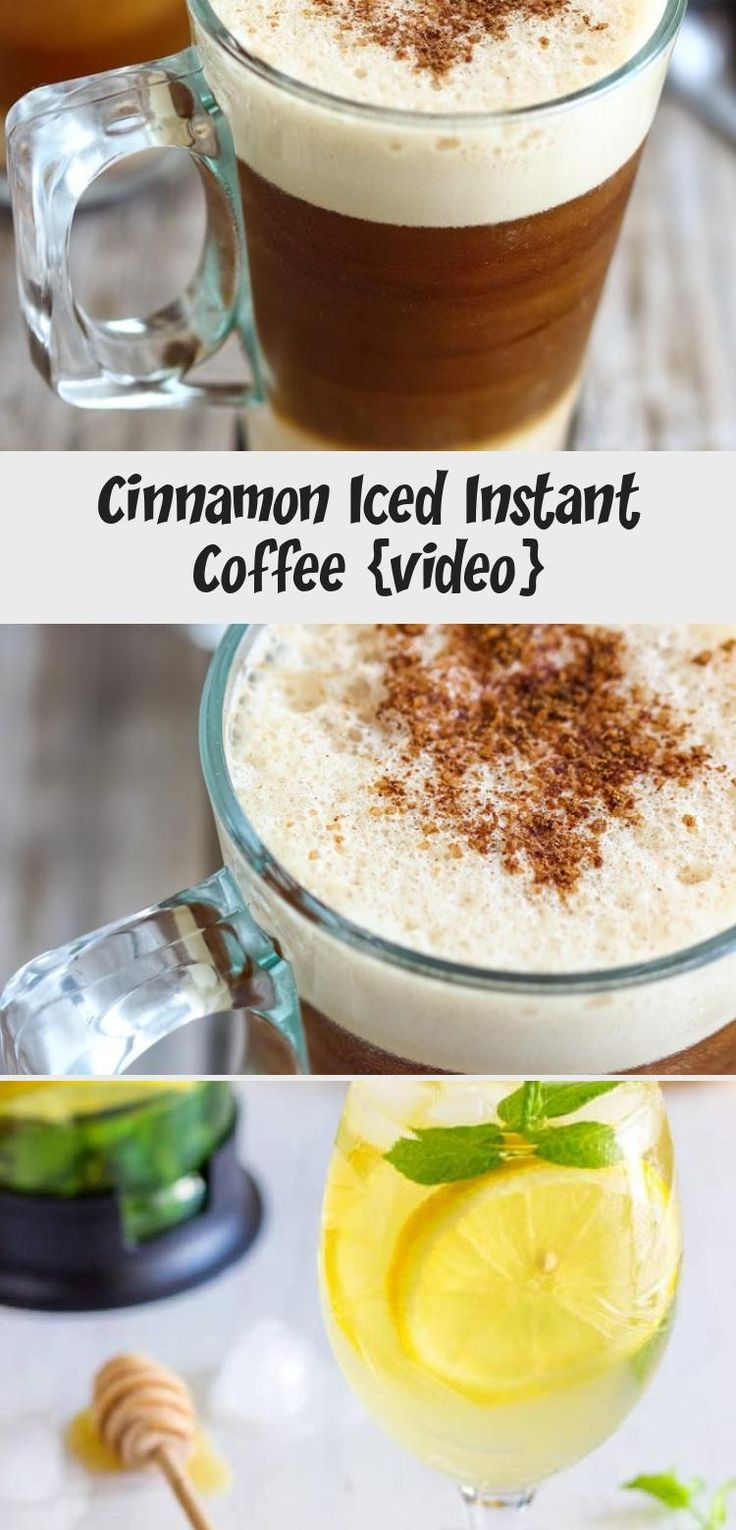 This 1Minute Instant Iced Coffee is the best way to enjoy