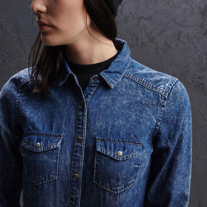 Jeansowa koszula, CROPP