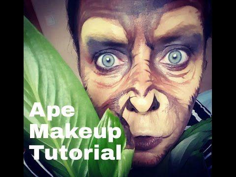 Image result for monkey makeup