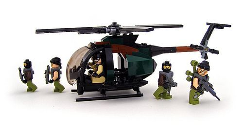 Lego special forces helicopter