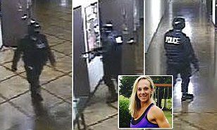 Texas Fitness trainer 'murdered at church by suspect wearing police SWAT gear' | Daily Mail Online