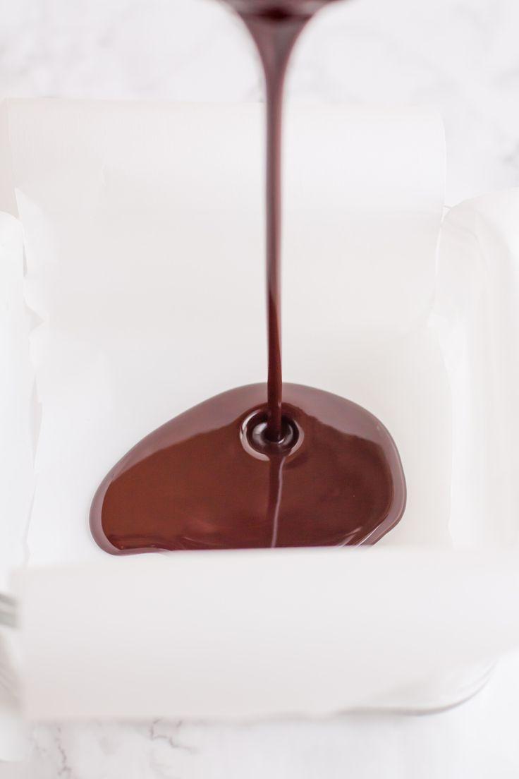 Dark Chocolate Coconut Oil Fudge