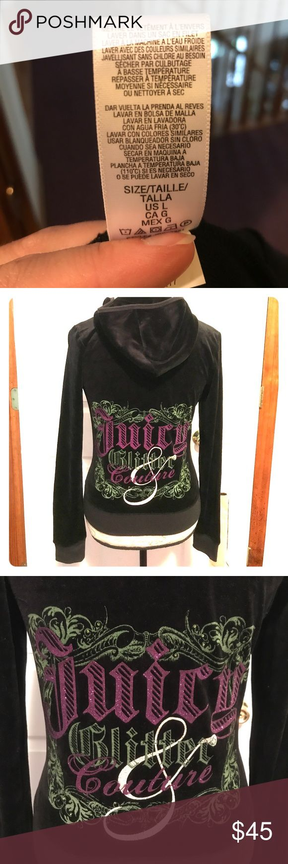 Juicy Couture Velour track suits Womens Juicy Couture Tracksuit Brand New Never Worn The Zip Up does not come with tags but the pants do come with tags. The Zip Up is a Size large and the pants a Size Petite Juicy Couture Other