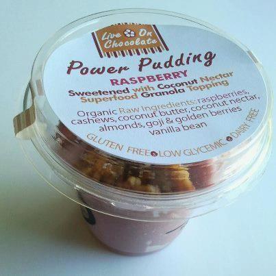 Raspberry, Live On Chocolate™ - Power Puddings