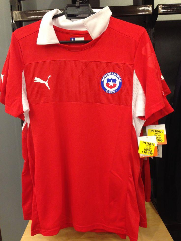 PUMA  //   Polera Selección Chilena  //   Antes: $34.990  -   AHORA: $16.990