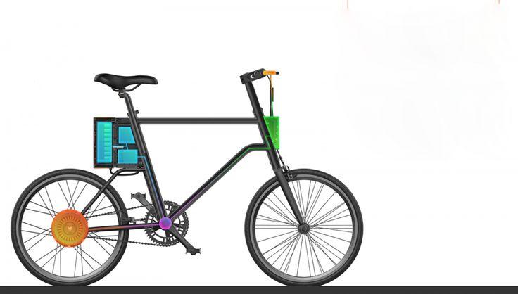 YunBike C1 — новый электрический велосипед от китайской компании Xiaomi