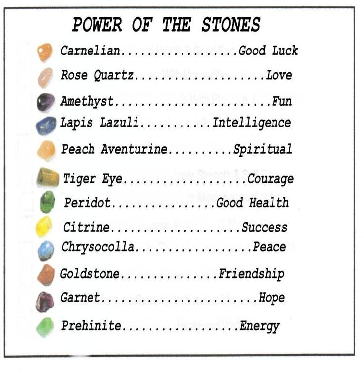 crystals and their powers - Yahoo Search Results